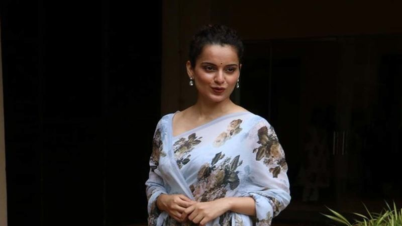 Kangana Ranaut Back In Town From Manali; Netizens Ask, 'Why Does She Never Put Her Mask???'