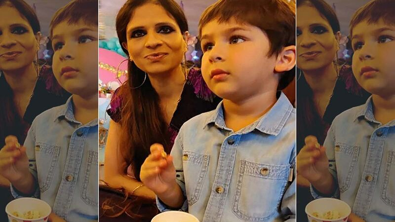 Saba Ali Khan Shares An Adorable Picture Of Taimur Ali Khan Enjoying A Puppet Show At Inaaya Naumi Kemmu's Birthday Bash