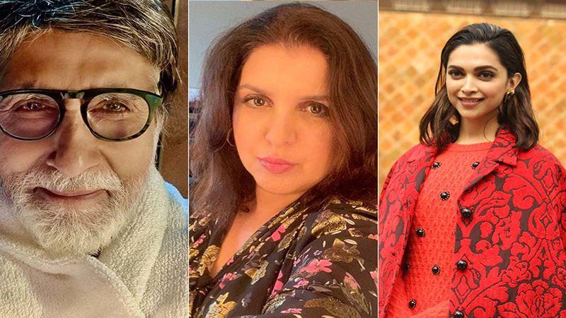 Kaun Banega Crorepati 13: Amitabh Bachchan 'Auditions' For Farah Khan On The Show, Enacts Deepika Padukone's 'Ek Chutki Sindoor' Scene