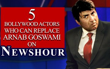 VIDEO: 5 Actors Who Can Replace Arnab Goswami On Newshour!