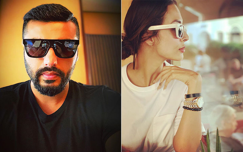 Malaika Arora-Arjun Kapoor Treat Us With Lovely Selfie Moments Spreading Happy Sunday Vibes