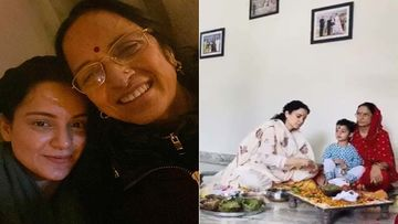 Kangana Ranaut's Mother Scared For Her Safety; Chants 1 Lakh 15 Thousand Mahamrityunjaya Mantras - VIDEO