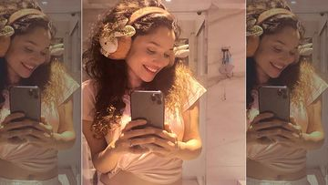 Ankita Lokhande's Bed Selfies Has Her Glowing And Going Goofy In Her INSTA Stories