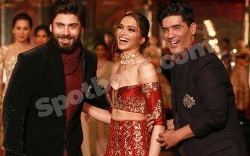 Deepika & Fawad turn showstoppers for Manish Malhotra