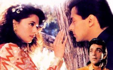 Salman Khan-Madhuri Dixit-Sanjay Dutt Starrer Saajan Completes 25 Years And More On Weekly-Pedia