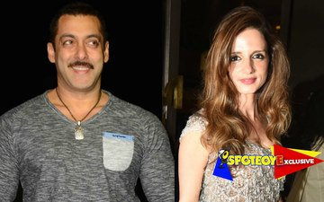 Salman Khan's night out with Sussanne Khan!