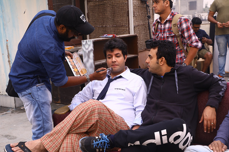 Pulkit Sharma On The Sets Of Fryday