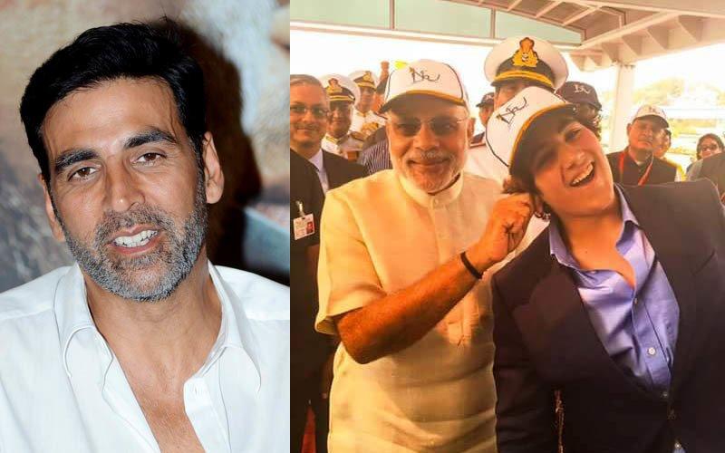 When Akshay's son Aarav met PM Narendra Modi
