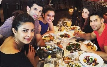 IN PICS: Priyanka Catches Up With Dream Team In New York
