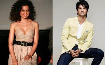 CONFIRMED! Kangana to star opposite Sushant in Homi's next