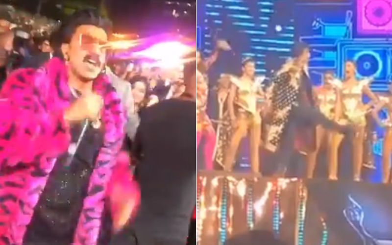 64TH Filmfare Awards 2019: Ranveer Singh's Energy Is Infectious, Sets The Stage On Fire