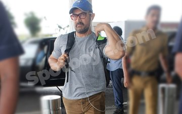 Punjab Calling: In pics, Aamir Khan departs for the final schedule of Dangal