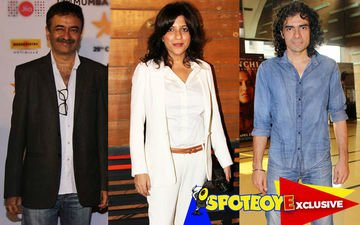 Hirani, Zoya, Imtiaz form a film club