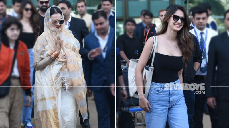 Isha Ambani's Wedding Festivities Get More Glamour And Colour: Rekha, Disha Patani Walk In