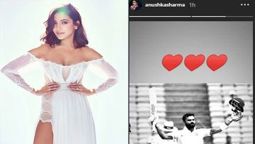 Though A Little Late, Anushka Sharma Celebrates Hubby Virat Kohli's Seventh Double Hundred, Showers Him With Hearts