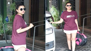Parineeti Chopra Perfects Her Badminton Skills, Snapped At Khar Gymkhana Training For Saina Nehwal Biopic