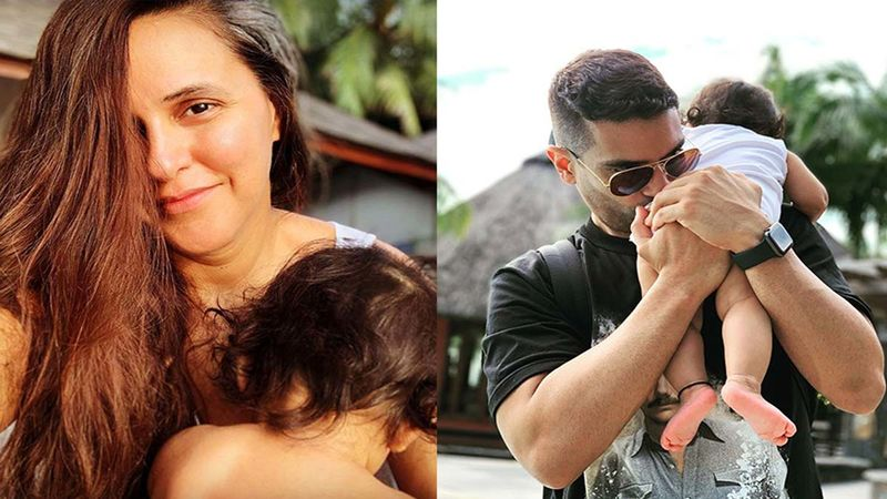 Neha Dhupia And Angad Bedi Indulge In A Funny Banter, Announcing Their Daughter Turning 11 Months