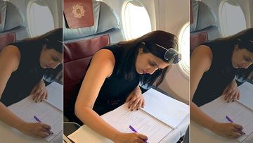 Parineeti Chopra Spotted Preparing 100 Questions For Saina Nehwal; Gets An Epic Reply From The Athlete