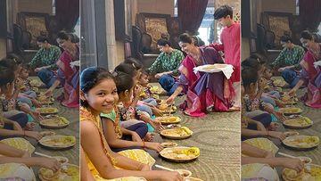 Shilpa Shetty Wishes Her Insta Family On Durga Ashtami, Shares A Pic Of Kanjak Puja