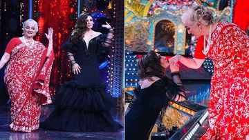 Nach Baliye 9: Raveena Tandon Pays Tribute To Veteran Actress Asha Parekh With A Special Dance Act