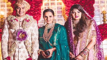Sania Mirza Dazzles At Sister Anam Mirza Wedding With Mohammad Azharuddin's Son Asaduddin- INSIDE PICS, VIDEOS