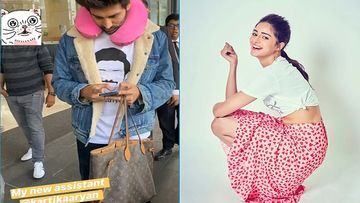 Kartik Aaryan SPOTTED Holding Ananya Panday's Bag; Gets Labelled As 'New Assistant'