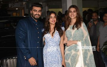 Arjun Kapoor, Janhvi Kapoor, Anil Kapoor, Kriti Sanon Attend The Special Screening Of Panipat