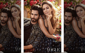 Shahid Kapoor And Mira Rajput Are A Smoking Hot Couple On The Latest Cover Of Vogue India