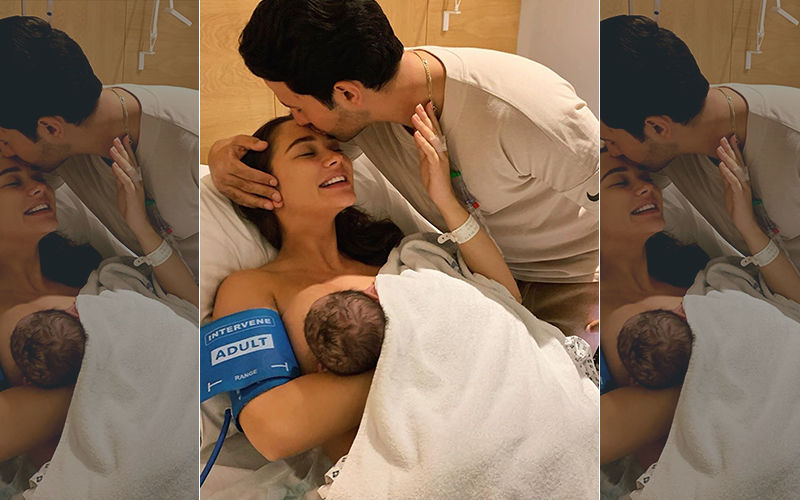 Amy Jackson Gives Birth To Baby Boy Andreas; Receives Congratulatory Messages From Industry Friends