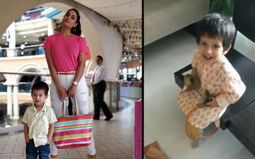 Shweta Tiwari's Son Reyansh's Cute Ganesh Chaturthi Video Is Viral Worthy, Daughter Palak Tiwari Seems Missing In Action