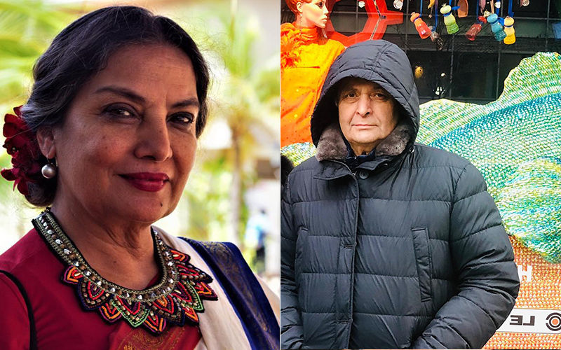 Rishi Kapoor Expresses Regret In His Tweet, Of Being Unable To Work With Shabana Azmi