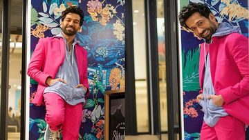 Nakuul Mehta Reinvents Style With A Pop Pink Shade; Clubs A Hoodie With A Blazer
