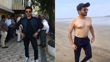 Anil Kapoor Shares His Shirtless; Says 'This Papa Doesn't Preach, Just Removes His Top And Walks To The Beach'