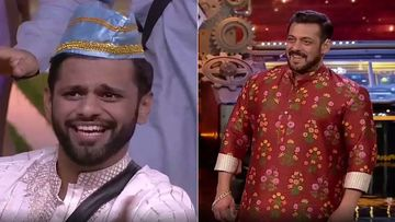 Bigg Boss 14: Rahul Vaidya And Housemates Entertain Host Salman Khan With Their Qawaali Mehfil; Leave The Host In Splits-WATCH
