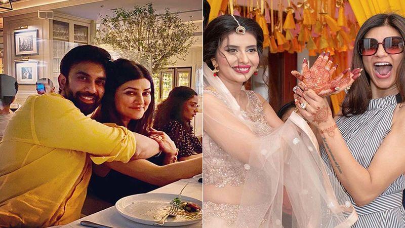 Sushmita Sen Birthday Special: Brother Rajeev Sen And Sister-In-Law Charu Asopa Share Candid Pics Of The Birthday Girl