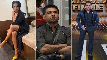 Bigg Boss 14: Kamya Punjabi Calls Eijaz Khan's Language 'Ghatiya', Salman Khan Agrees, Calls It Harsh