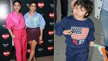 Kareena Kapoor Khan - Sara Ali Khan Expect To See Taimur In Love Aaj Kal 11 Years From Now; Okay Then
