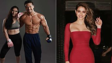 Tiger Shroff's Sis Krishna Asks For Disha Patani's Dress Size As She Steps Out In Tight Body-Hugging Dress; Funny Banter Follows