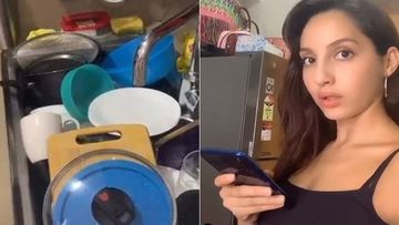 Nora Fatehi's Conversation With Her Utensils During Lockdown Is The Most FUN Thing You Will Watch Today-Video