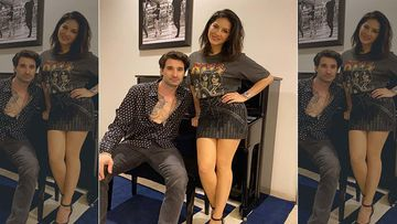 Sunny Leone And Hubby Daniel Weber Indulge In A Quirky Dance Session Before Kick-Starting Their Show 'Locked Up With Sunny'