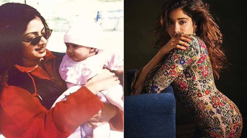 Mother's Day 2020: Janhvi Kapoor Shares An UNSEEN Childhood Picture Of Her Cradled In Mother Sridevi's Arms