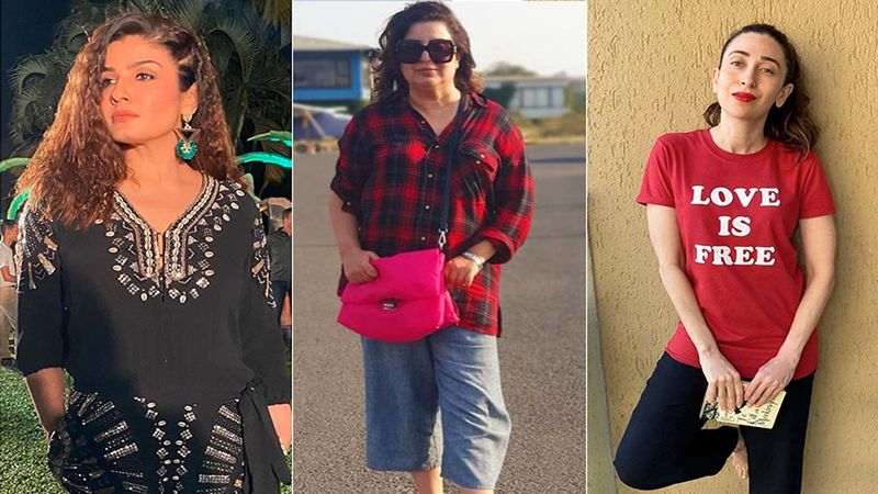 Farah Khan Once Opened Up About Karisma Kapoor- Raveena Tandon's Nasty Catfight: 'They Were Hitting Each Other With Their Wigs'