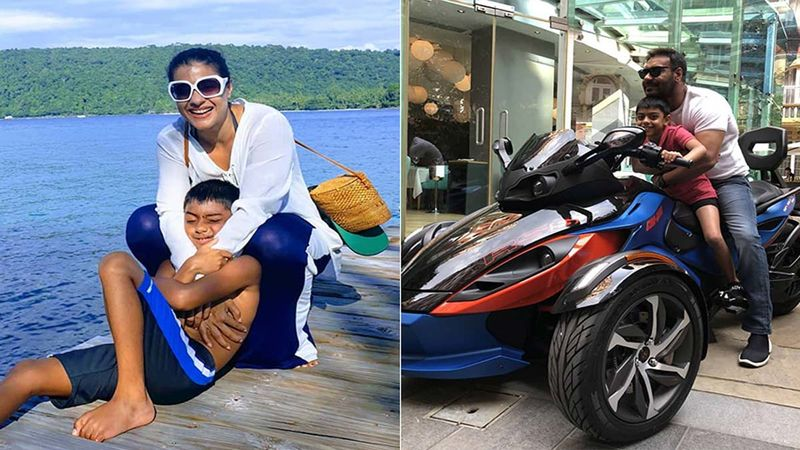 Kajol And Ajay Devgn Wish Their Son Yug On His 10th Birthday With Heartwarming Posts: 'Happy Birthday Little Buddha'