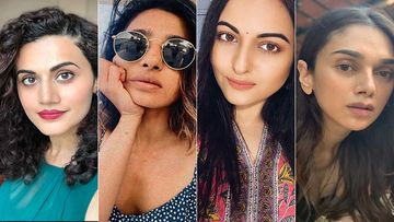 Taapsee Pannu, Radhika Apte, Sonakshi Sinha, Aditi Rao Hydari Join Hands Against Domestic Abuse In New  Campaign- Watch Video