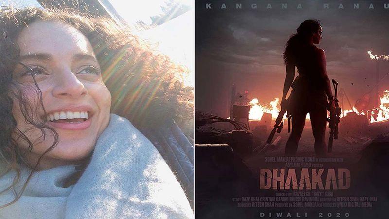 Kangana Ranaut Begins 2021 By Hosting A Lavish Brunch For Her Dhaakad Team - Inside Pics