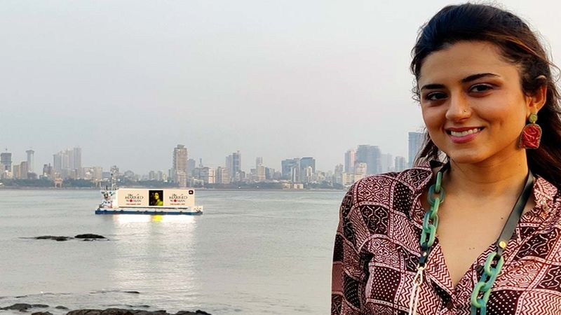 Ridhi Dogra Is Overwhelmed To See Floating Posters Of The Married Woman On The Mumbai Coastline