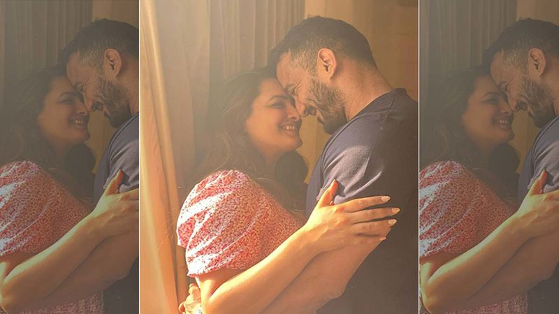 Anita Hassanandani And Hubby Rohit Reddy Share A Passionate Kiss; Latter Says No One Was Watching Them, But That's Not The Truth