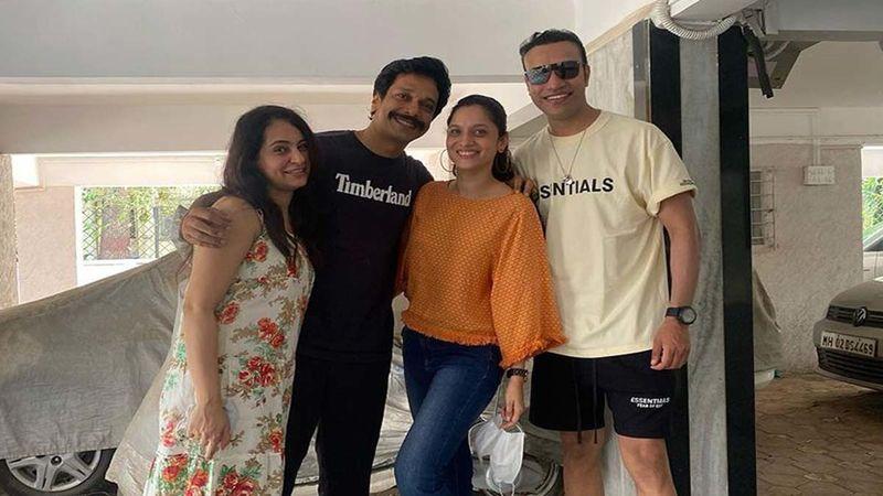 Ankita Lokhande Surprises Her Pavitra Rishta Co-Star Mahesh Shetty On His Birthday; Reaches His House With A Birthday Cake