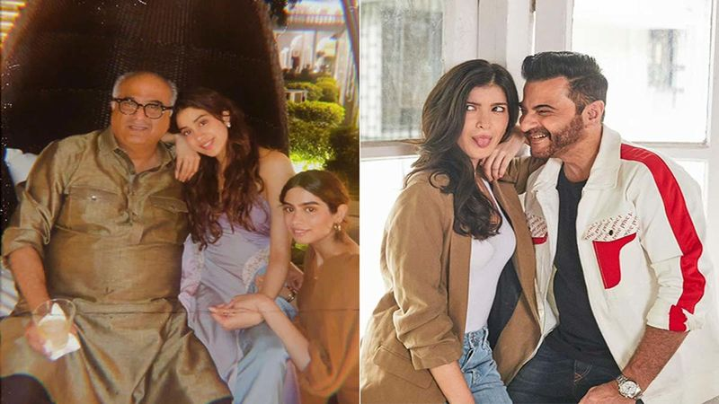 Father's Day 2021: Janhvi Kapoor Proves Why Daddy Boney Kapoor Is Cooler Than Drake; Shanaya Kapoor Posts Adorable Childhood Pictures With Sanjay Kapoor But It's His Reaction That Takes The Cake