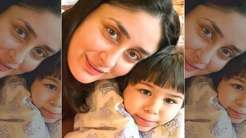 An Unseen Cozy Picture Of Kareena Kapoor Khan And Taimur Ali Khan Hits The Internet; Netizens Can't Stop Gushing Over It